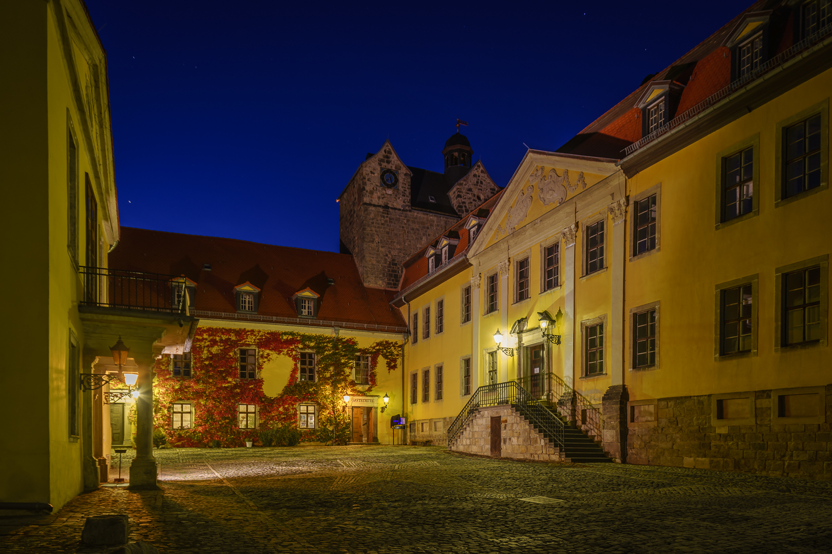 Ballenstedt Schloss Innenhof © Wolfram Schmidt / Meisdorf