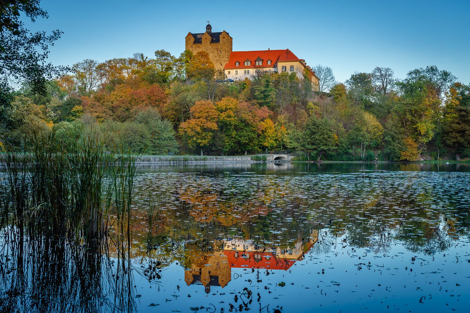 Ballenstedt Schloss Spiegelung © Wolfram Schmidt / Meisdorf