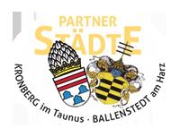 Partnerschaftsverein Kronberg-Ballenstedt Logo